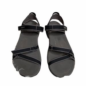 Teva Black and Gray Sandal size 7 Spider Rubber